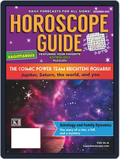 Horoscope Guide (Digital) December 1st, 2020 Issue Cover