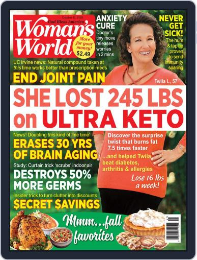 Woman's World (Digital) October 12th, 2020 Issue Cover