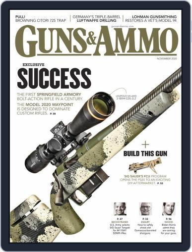 Guns & Ammo (Digital) November 1st, 2020 Issue Cover