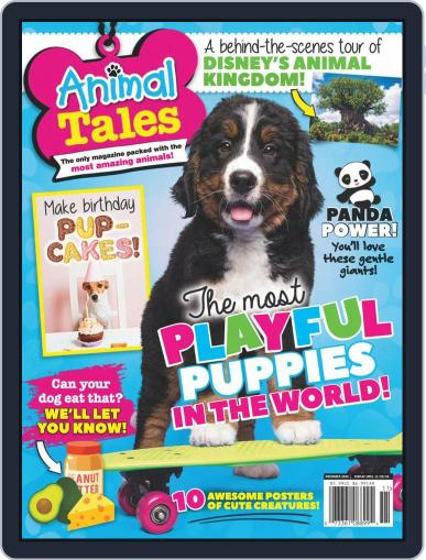 Animal Tales November 1st, 2020 Digital Back Issue Cover