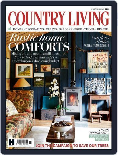 Country Living UK November 1st, 2020 Digital Back Issue Cover