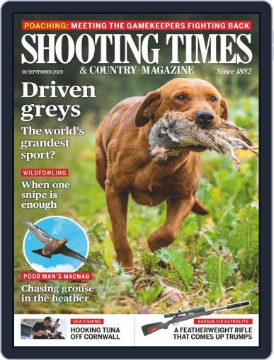Shooting Times & Country (Digital) September 30th, 2020 Issue Cover