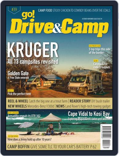 Go! Drive & Camp October 1st, 2020 Digital Back Issue Cover