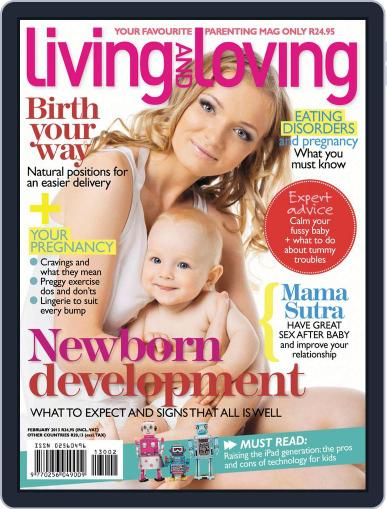 Living and Loving (Digital) January 16th, 2013 Issue Cover