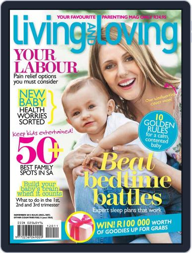 Living and Loving (Digital) October 21st, 2012 Issue Cover
