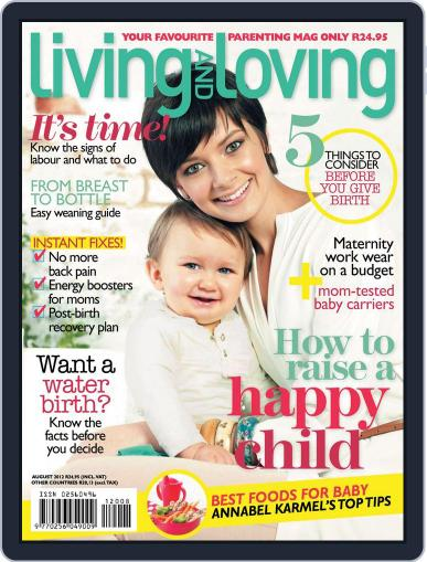 Living and Loving July 22nd, 2012 Digital Back Issue Cover