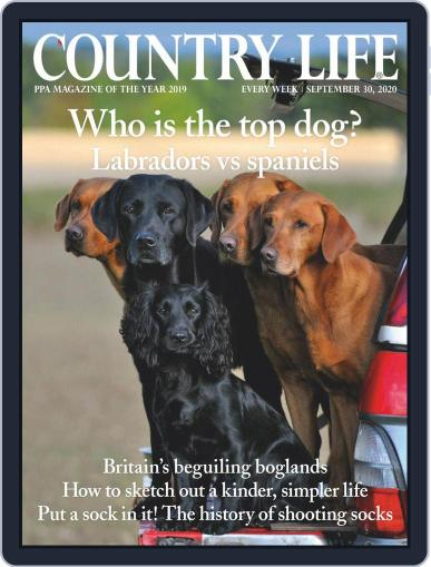 Country Life September 30th, 2020 Digital Back Issue Cover