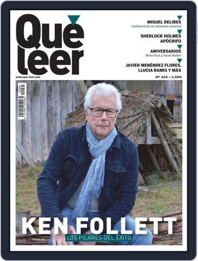 Que Leer October 1st, 2020 Digital Back Issue Cover