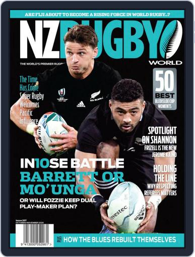 NZ Rugby World October 1st, 2020 Digital Back Issue Cover