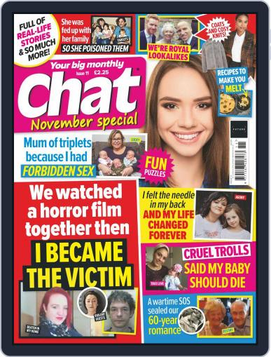 Chat Specials (Digital) November 1st, 2020 Issue Cover