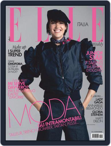Elle Italia (Digital) October 3rd, 2020 Issue Cover