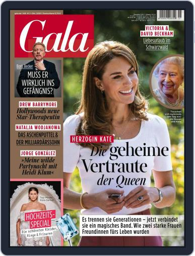 Gala October 1st, 2020 Digital Back Issue Cover