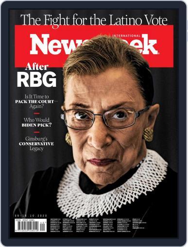 Newsweek International October 9th, 2020 Digital Back Issue Cover