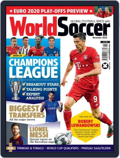 World Soccer (Digital) November 1st, 2020 Issue Cover