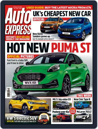 Auto Express (Digital) September 30th, 2020 Issue Cover