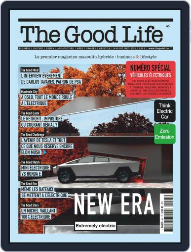 The Good Life October 1st, 2020 Digital Back Issue Cover