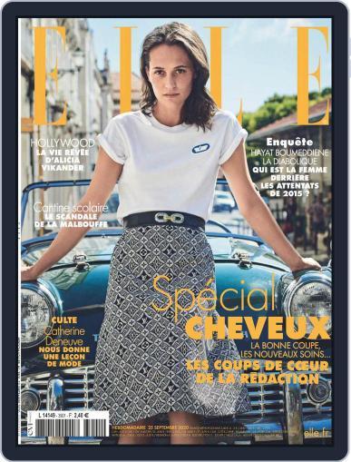 Elle France (Digital) September 25th, 2020 Issue Cover