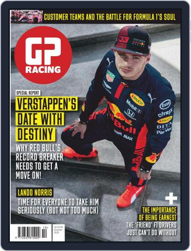 GP Racing UK October 1st, 2020 Digital Back Issue Cover