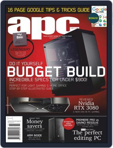 APC November 1st, 2020 Digital Back Issue Cover