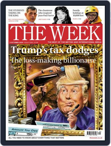 The Week United Kingdom October 3rd, 2020 Digital Back Issue Cover