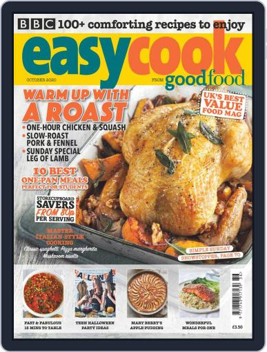 BBC Easycook October 1st, 2020 Digital Back Issue Cover