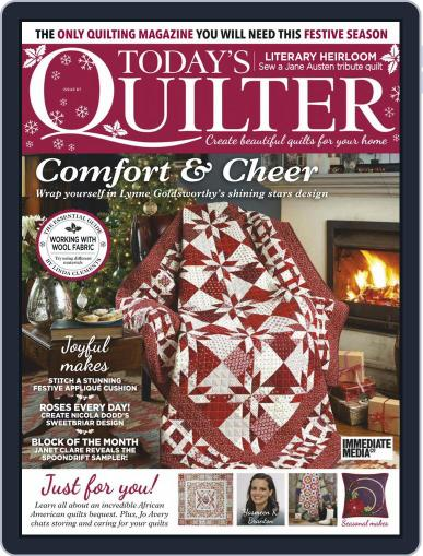 Today's Quilter (Digital) September 24th, 2020 Issue Cover