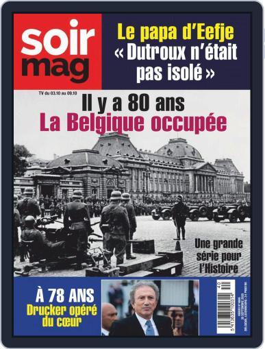 Soir mag September 30th, 2020 Digital Back Issue Cover