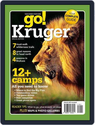 Go Kruger August 18th, 2011 Digital Back Issue Cover