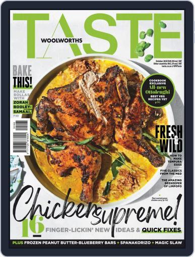 Woolworths TASTE (Digital) October 1st, 2020 Issue Cover