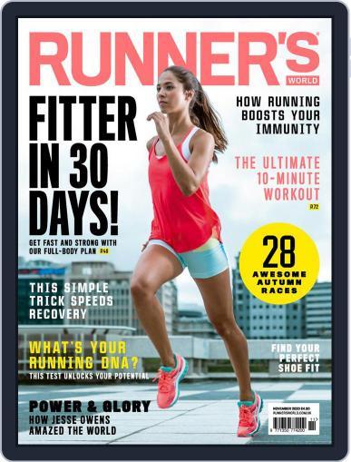 Runner's World UK November 1st, 2020 Digital Back Issue Cover