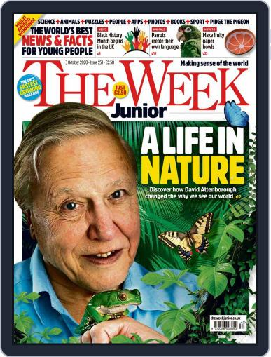 The Week Junior (Digital) October 3rd, 2020 Issue Cover