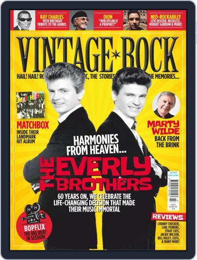 Vintage Rock (Digital) October 1st, 2020 Issue Cover