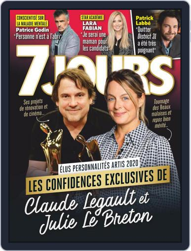 7 Jours (Digital) October 2nd, 2020 Issue Cover