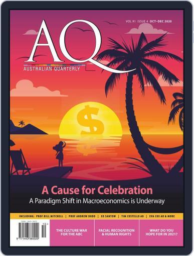 AQ: Australian Quarterly (Digital) October 1st, 2020 Issue Cover