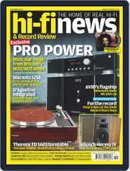 Hi Fi News (Digital) Subscription November 1st, 2020 Issue