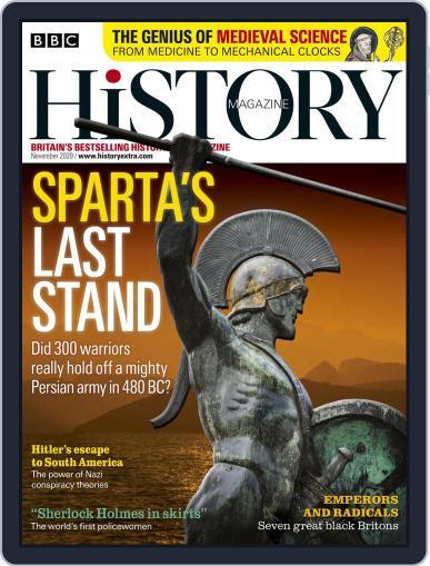 Bbc History November 1st, 2020 Digital Back Issue Cover