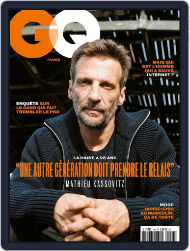 Gq France (Digital) October 1st, 2020 Issue Cover