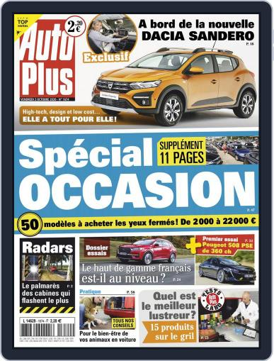 Auto Plus France October 2nd, 2020 Digital Back Issue Cover
