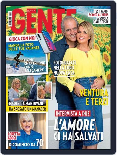 Gente (Digital) October 3rd, 2020 Issue Cover
