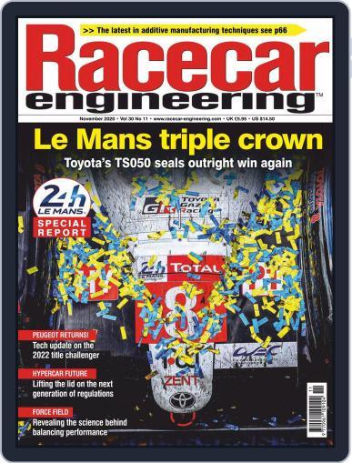 Racecar Engineering (Digital) November 1st, 2020 Issue Cover