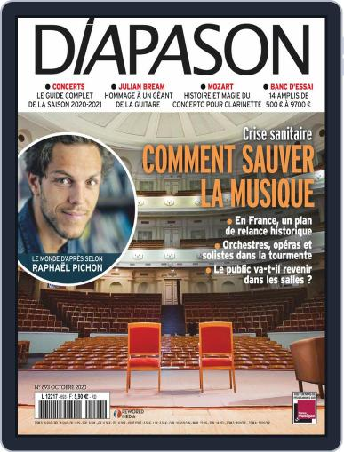Diapason (Digital) October 1st, 2020 Issue Cover