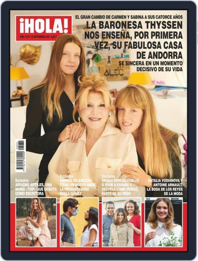 Hola (Digital) September 30th, 2020 Issue Cover