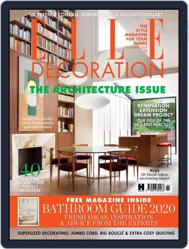 Elle Decoration UK November 1st, 2020 Digital Back Issue Cover