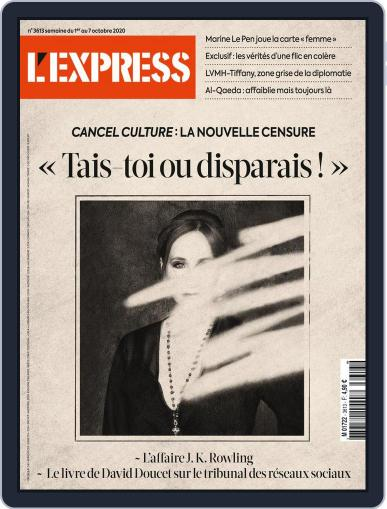L'express (Digital) October 1st, 2020 Issue Cover