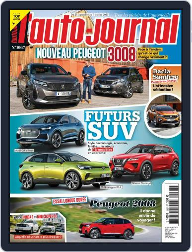 L'auto-journal (Digital) September 24th, 2020 Issue Cover