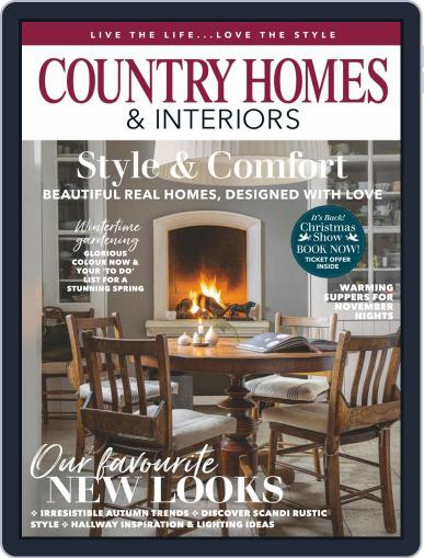 Country Homes & Interiors November 1st, 2020 Digital Back Issue Cover