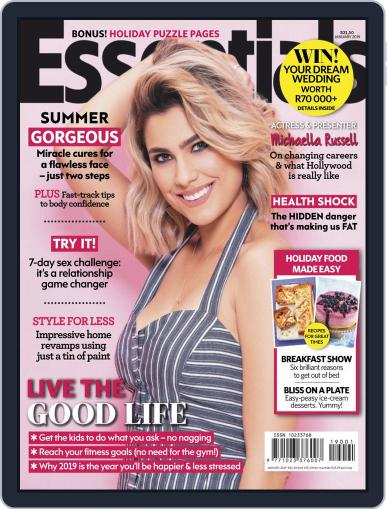 Essentials South Africa (Digital) January 1st, 2019 Issue Cover