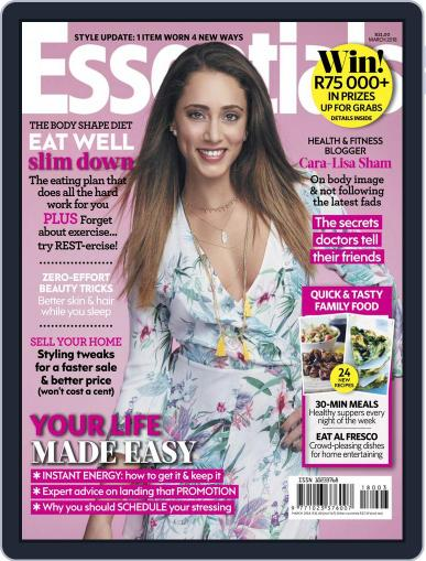 Essentials South Africa March 1st, 2018 Digital Back Issue Cover