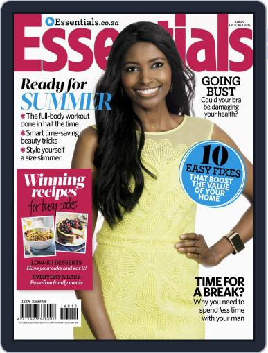 Essentials South Africa (Digital) October 1st, 2016 Issue Cover