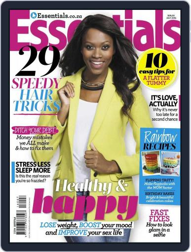 Essentials South Africa (Digital) June 20th, 2016 Issue Cover